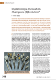 Implantologie-Innovation Champions (R)Evolution®