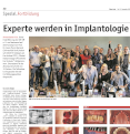 Experte werden in Implantologie & Implantat-Prothetik